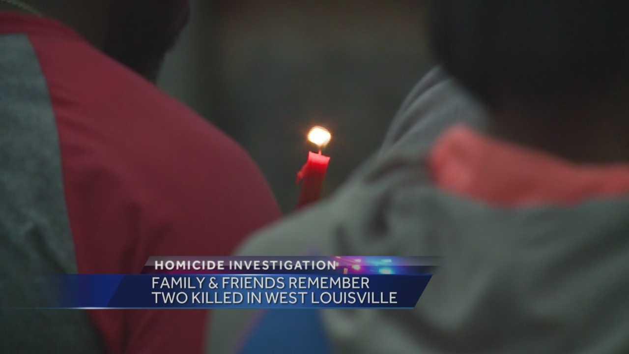 Vigil held in Shawnee neighborhood for homicide victim