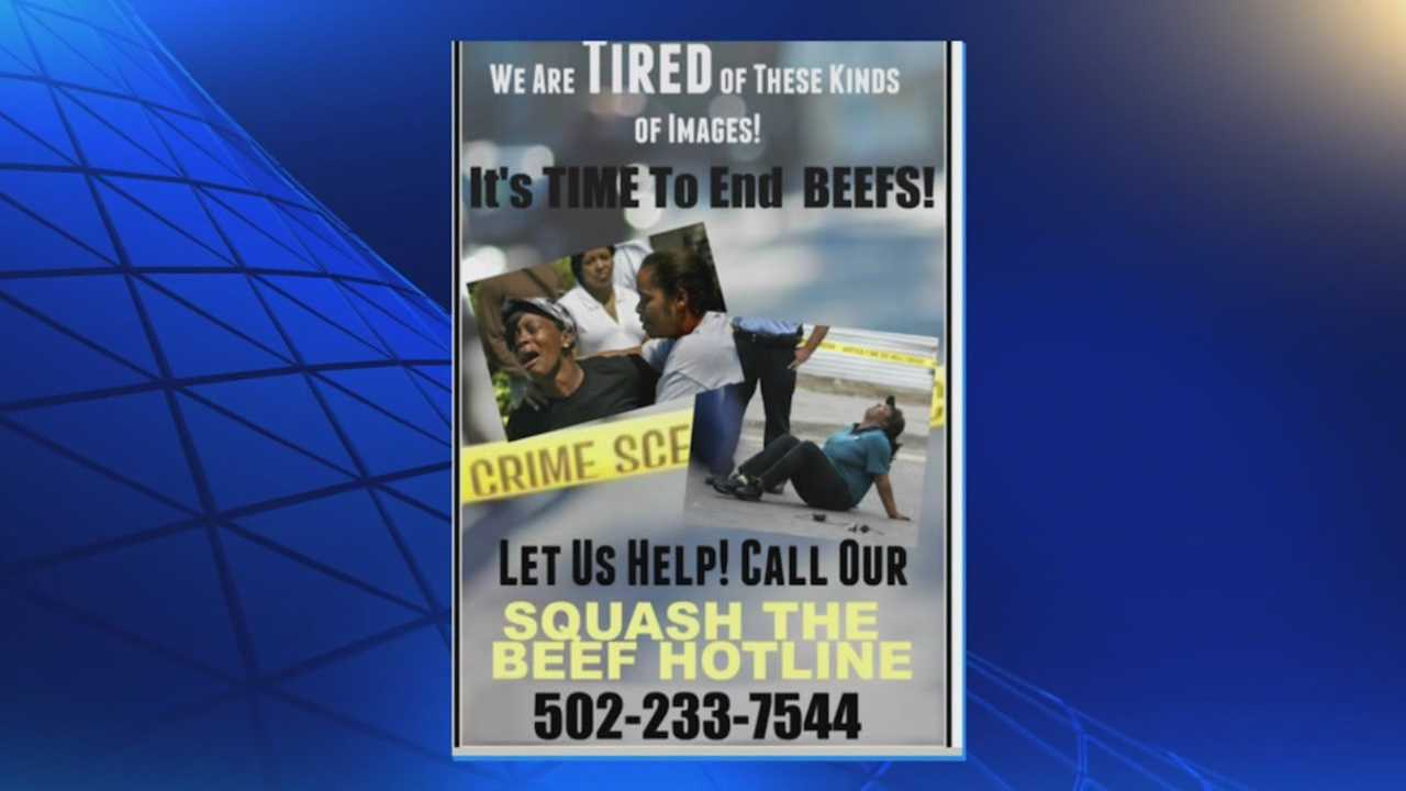 Squash the Beef Hotline is connecting community members to ways to stop conflicts before they escalate.