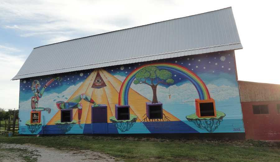 Ramsey, Indiana, barn