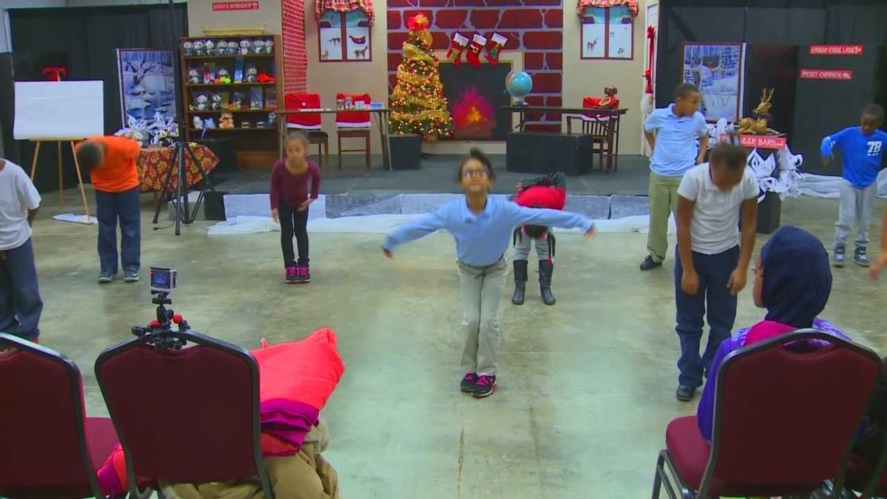 Fund for the Arts program helps children communicate through ballet