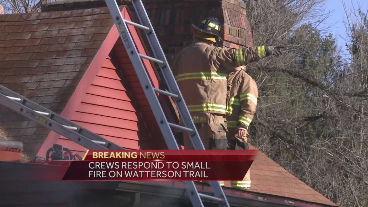Five dogs were the only ones home Tuesday morning when a fire broke out in Jeffersontown.