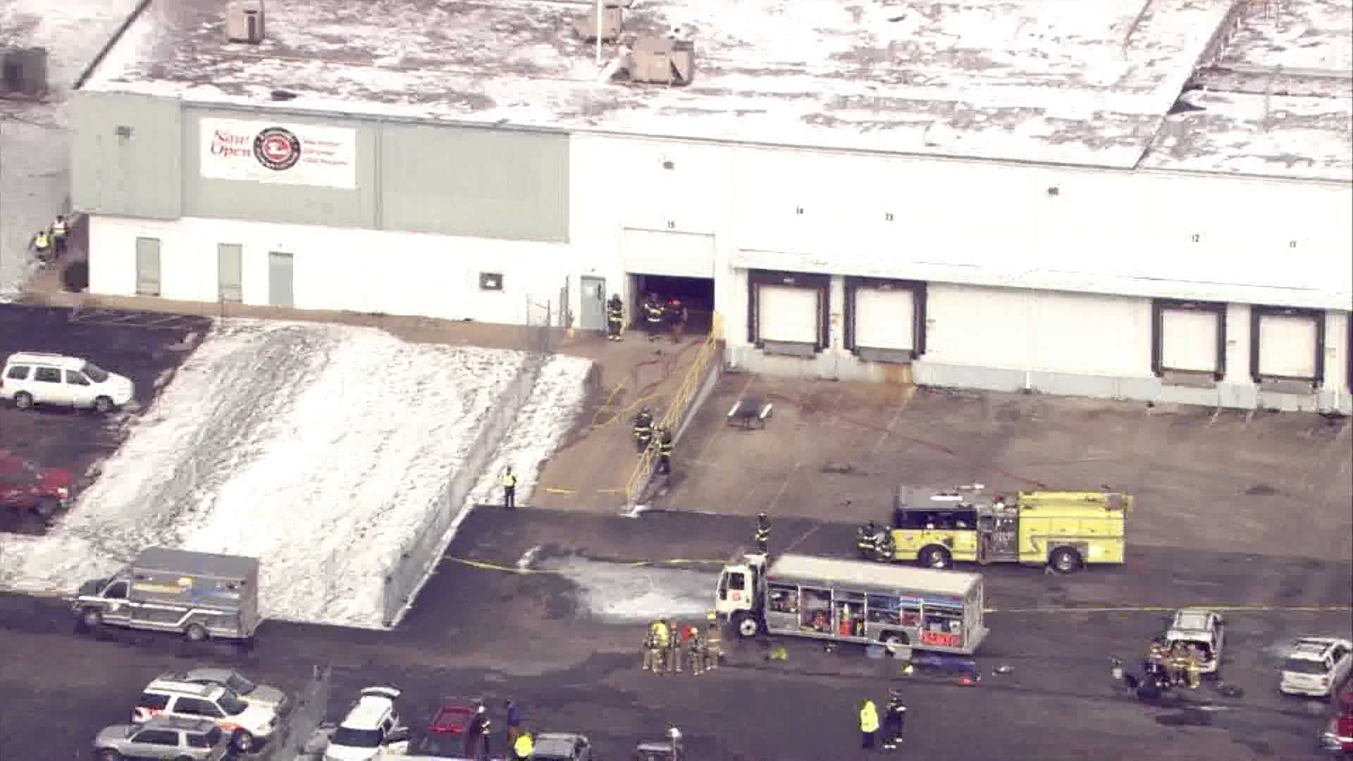 Ammonia Leak Reported At Louisville Processing And Cold Storage