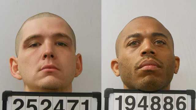 Jonathan Oliver (L), James Willis (R)