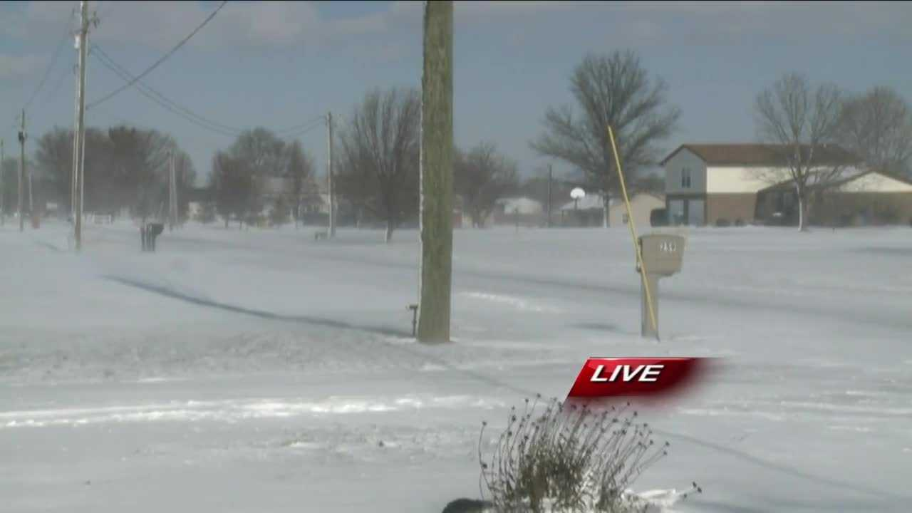 Several southern Indiana schools are closed Tuesday due to the snow.