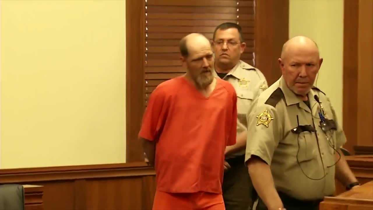 A Scottsville man accused of raping and murdering 7-year-old Gabbi Doolin said he didn't do it.