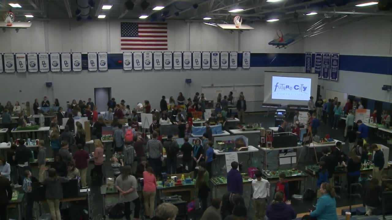 """The annual \""""Future City\"""" competition encourages middle school students to design cities of the future, using science and engineering skills."""