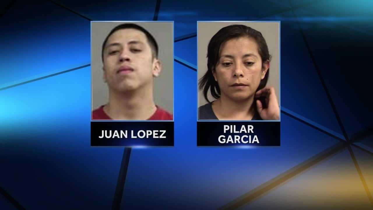 A mother and son were arrested Wednesday following a burglary in Pleasure Ridge Park.