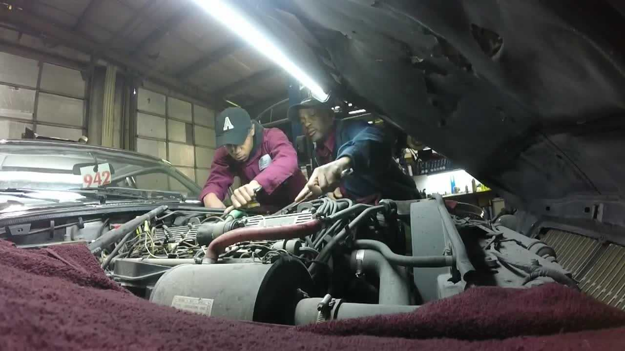 A Louisville mechanic hopes to use his expertise in a way you might not expect.