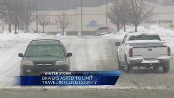 Southern Indiana: Floyd County snow condition update