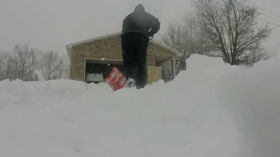 Hardin County snow update