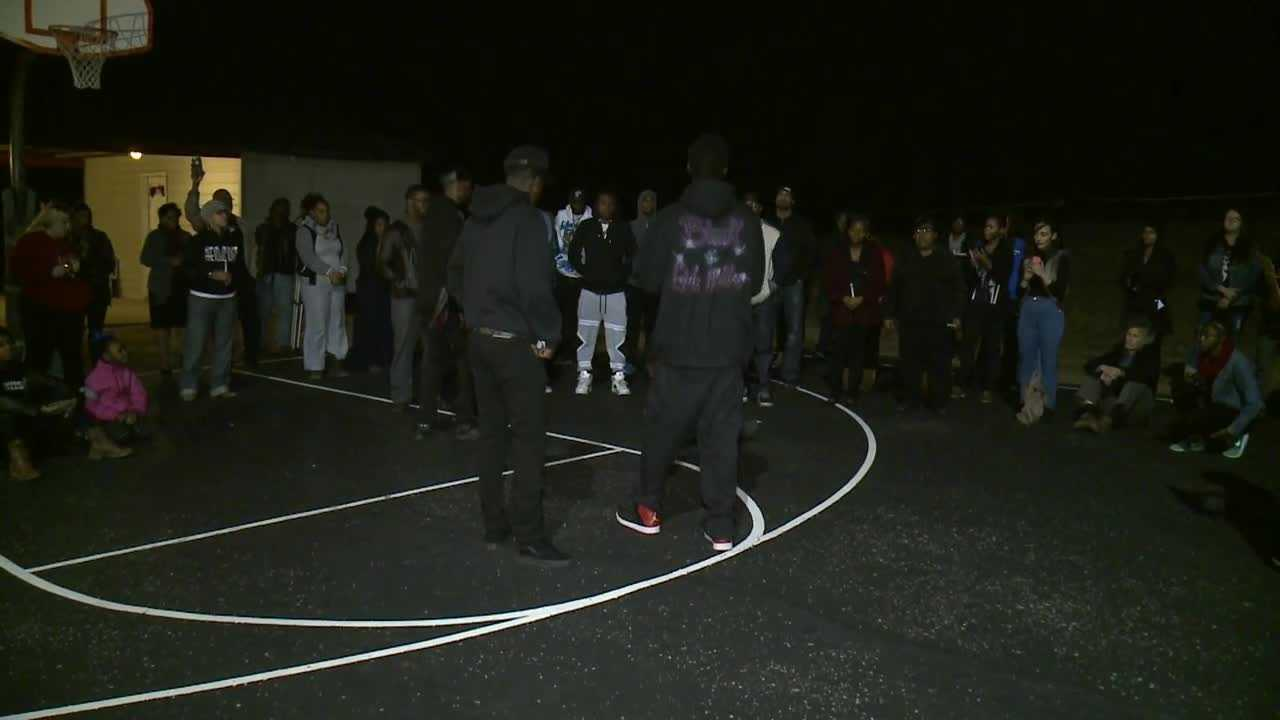 Vigil held outside juvenile detention center where teen died