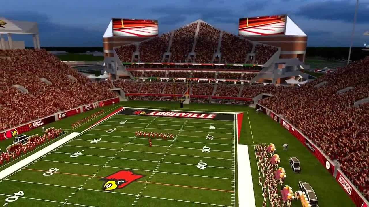 The University of Louisville Athletics Department is starting a capital campaign to fund the expansion of Papa John's Cardinal Stadium.