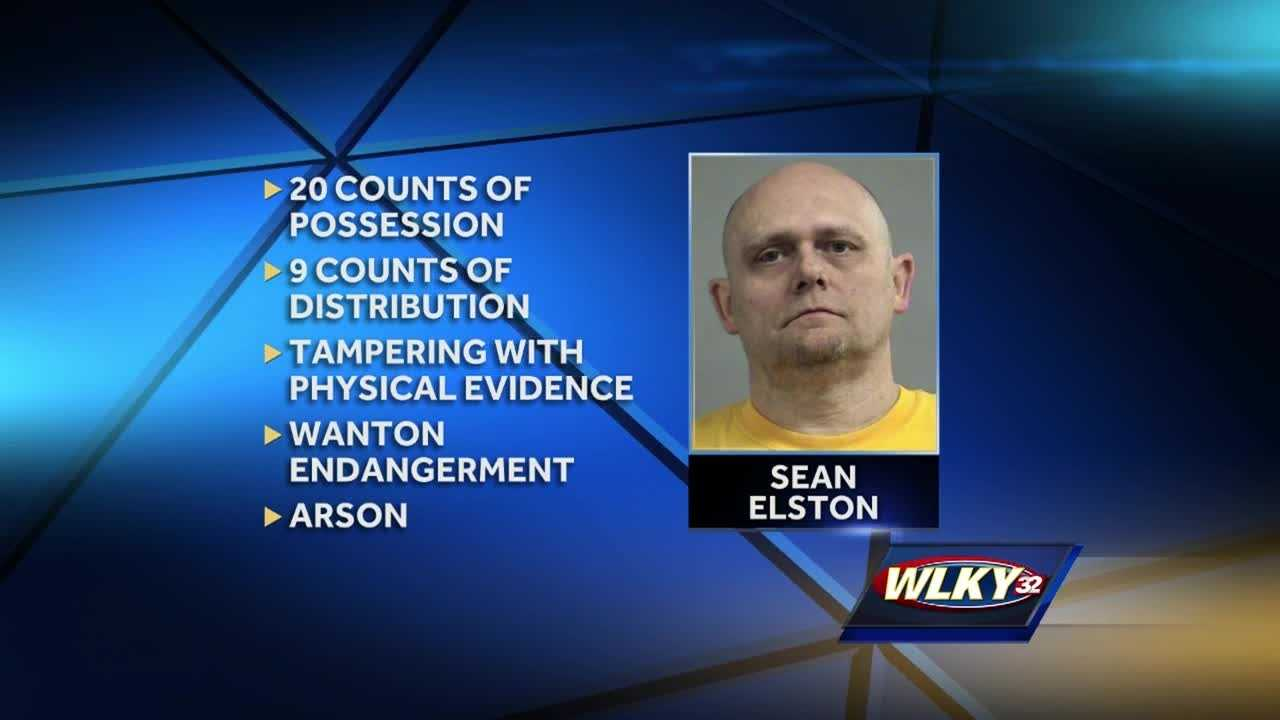An Okolona man faces more than 30 charges stemming from a child pornography investigation.