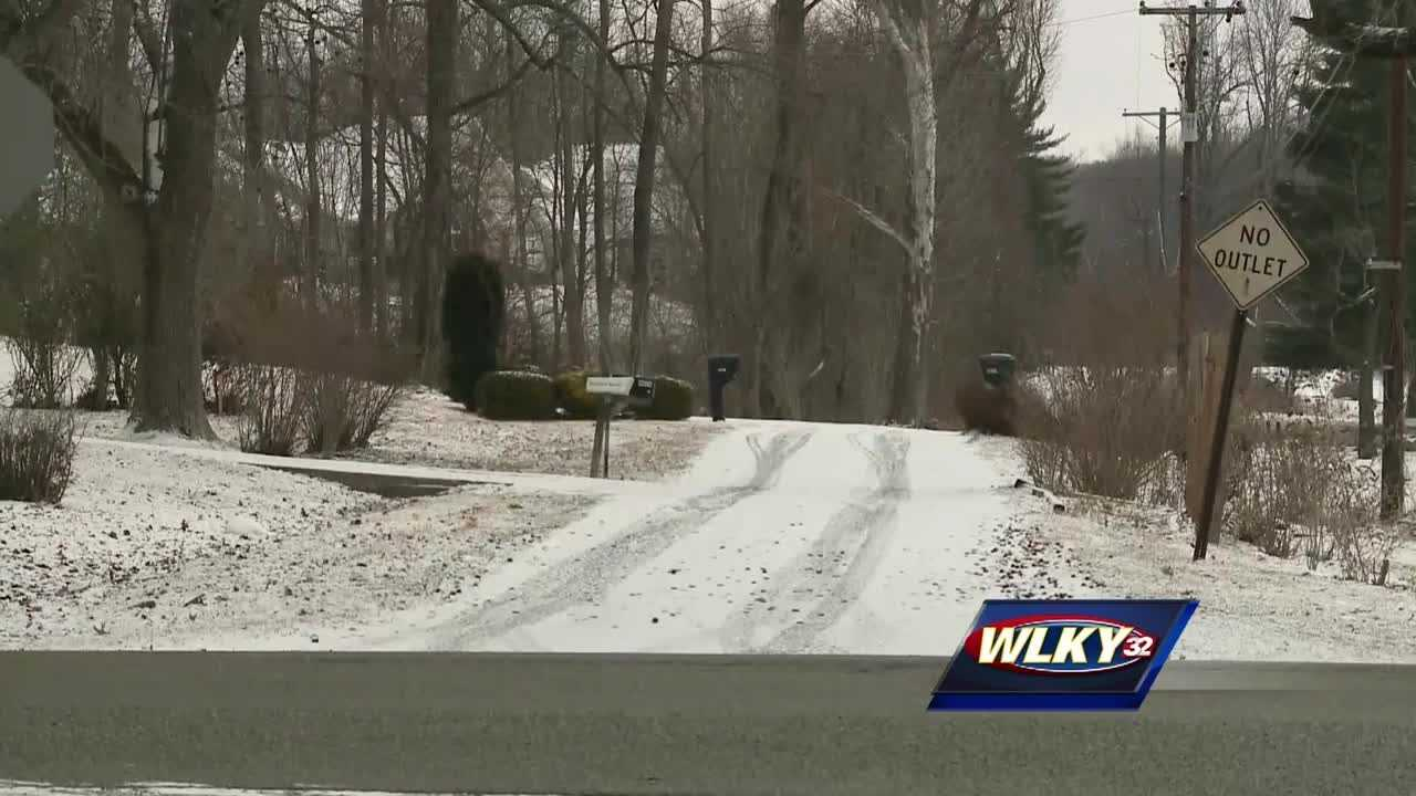 Many schools are closed Wednesday due to slick conditions.