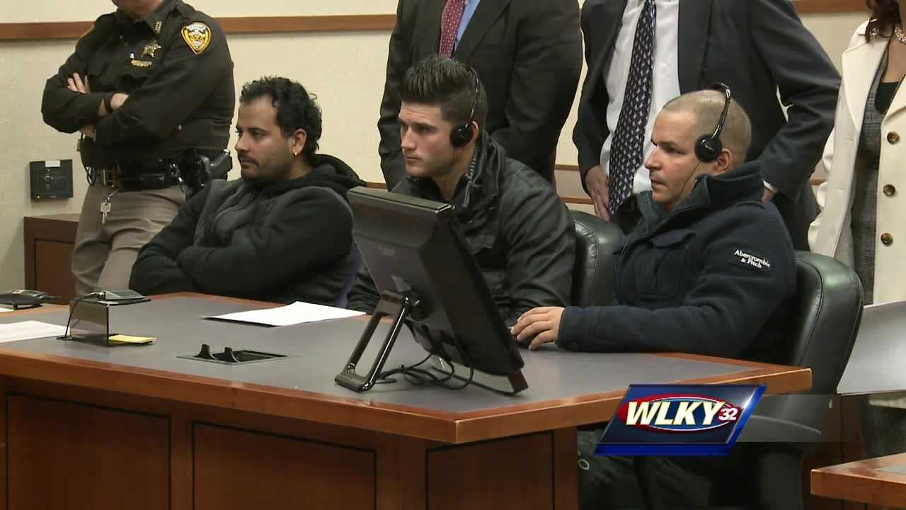 3 of 10 suspected in crime ring face judge