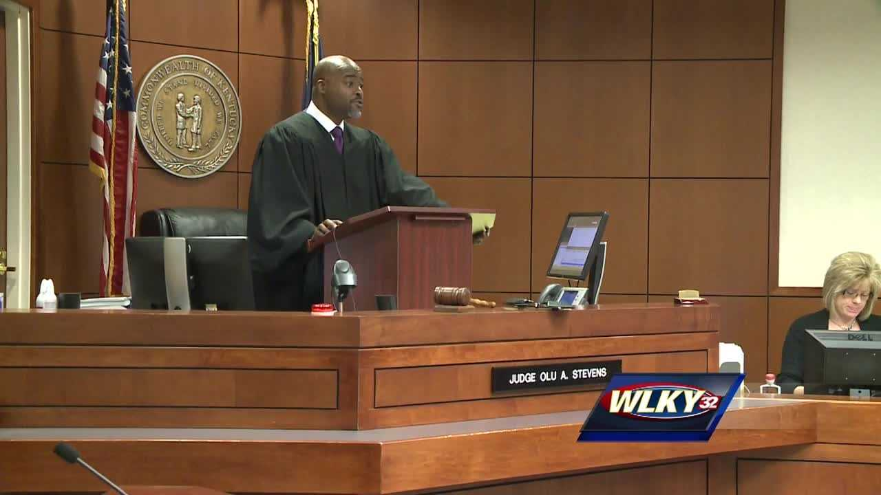 An appeals court halted a trial in Louisville after another controversial move by a local judge.