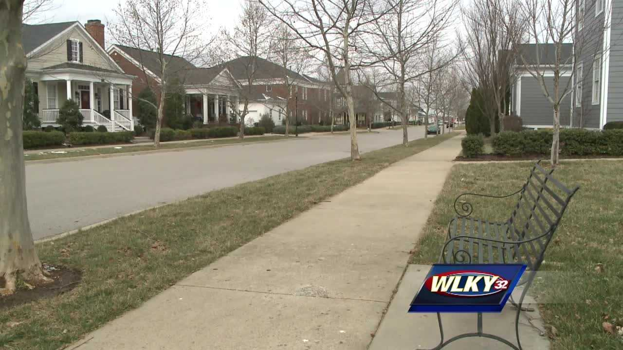 Families in a Louisville subdivision are being more cautious after several break-ins in their community.