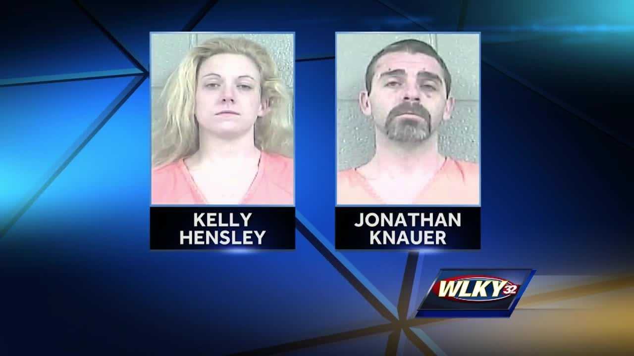 Three Bullitt County kids are in protective custody and a Lebanon Junction couple is in jail after police said they left their 10-year-old son in an extremely hot hotel room for hours.