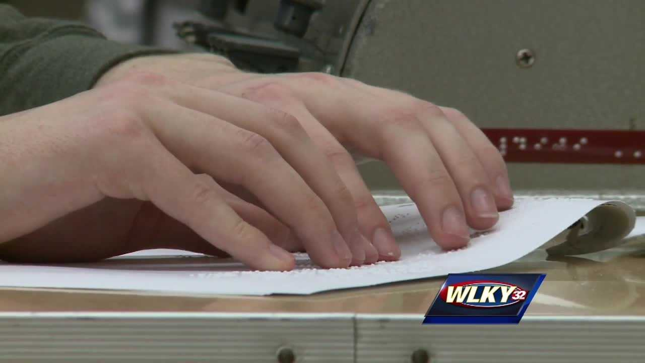 Dozens of legally blind students showcased their unique talents Thursday at the sixth Kentucky Braille Challenge.
