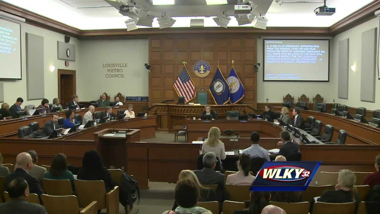 Discussions are heated Thursday night as Metro Council members debate where to spend your tax dollars.