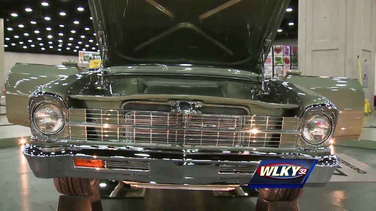 Cars, trucks and their drivers came from all across the country to be at the Kentucky Exposition Center this weekend.