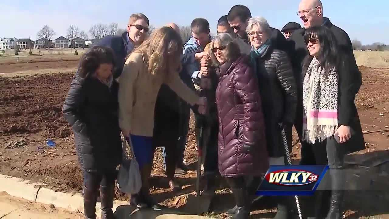 A Green Home groundbreaking was held at Norton Commons Tuesday.
