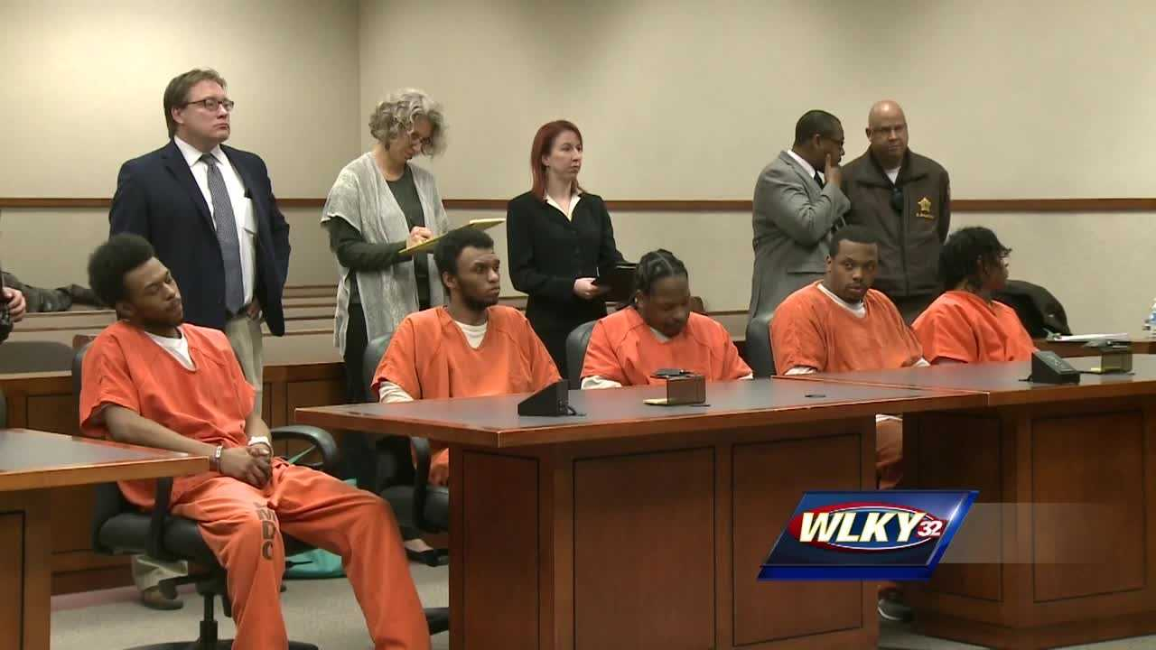 The five men charged in connection with the shooting of a toddler are set to face a judge Wednesday.