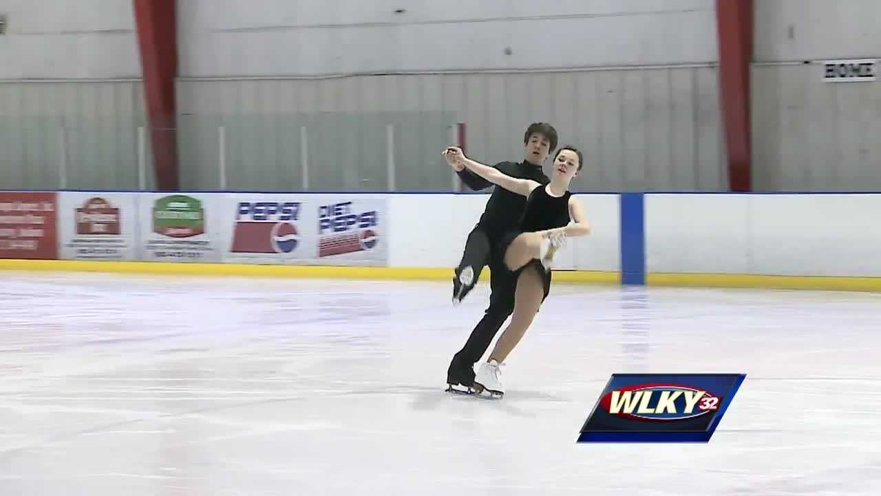A local ice dancing team is taking the figure skating world by storm.