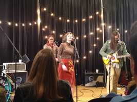 Nellie Pearl performed on WFPK Live Lunch Friday. Their album release show was Feb. 26 at Headliners Music Hall. Cheyenne Mize and Frederick the Younger opened the show.