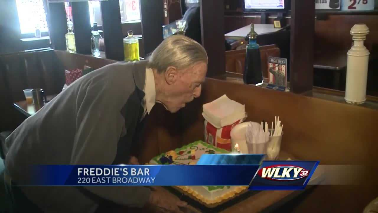The World War 2 vet opened his bar in May 1962
