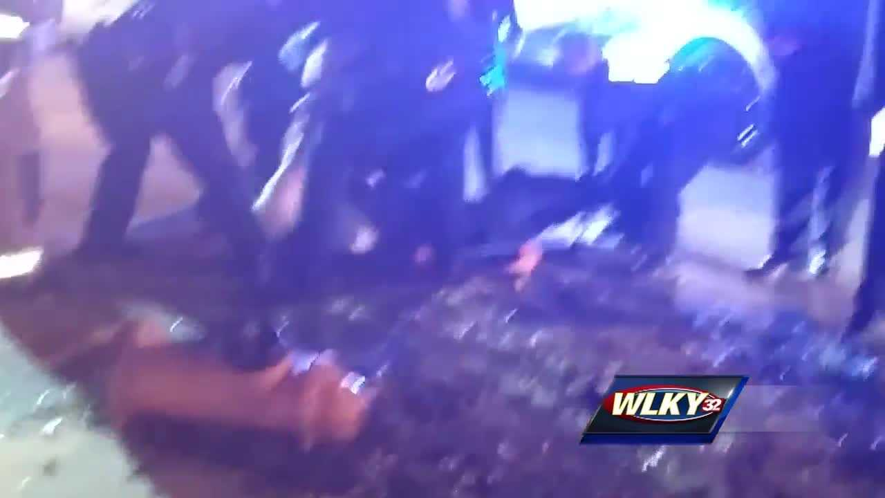LMPD has launched an investigation into the use of force by their officers.