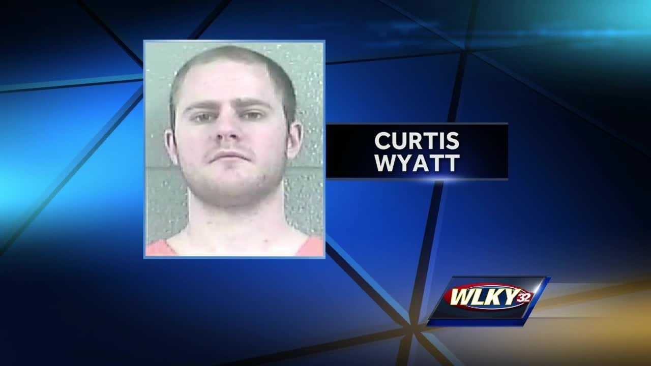 Police said after a driver was shot by Wyatt, he pulled into the rest stop and called 911.