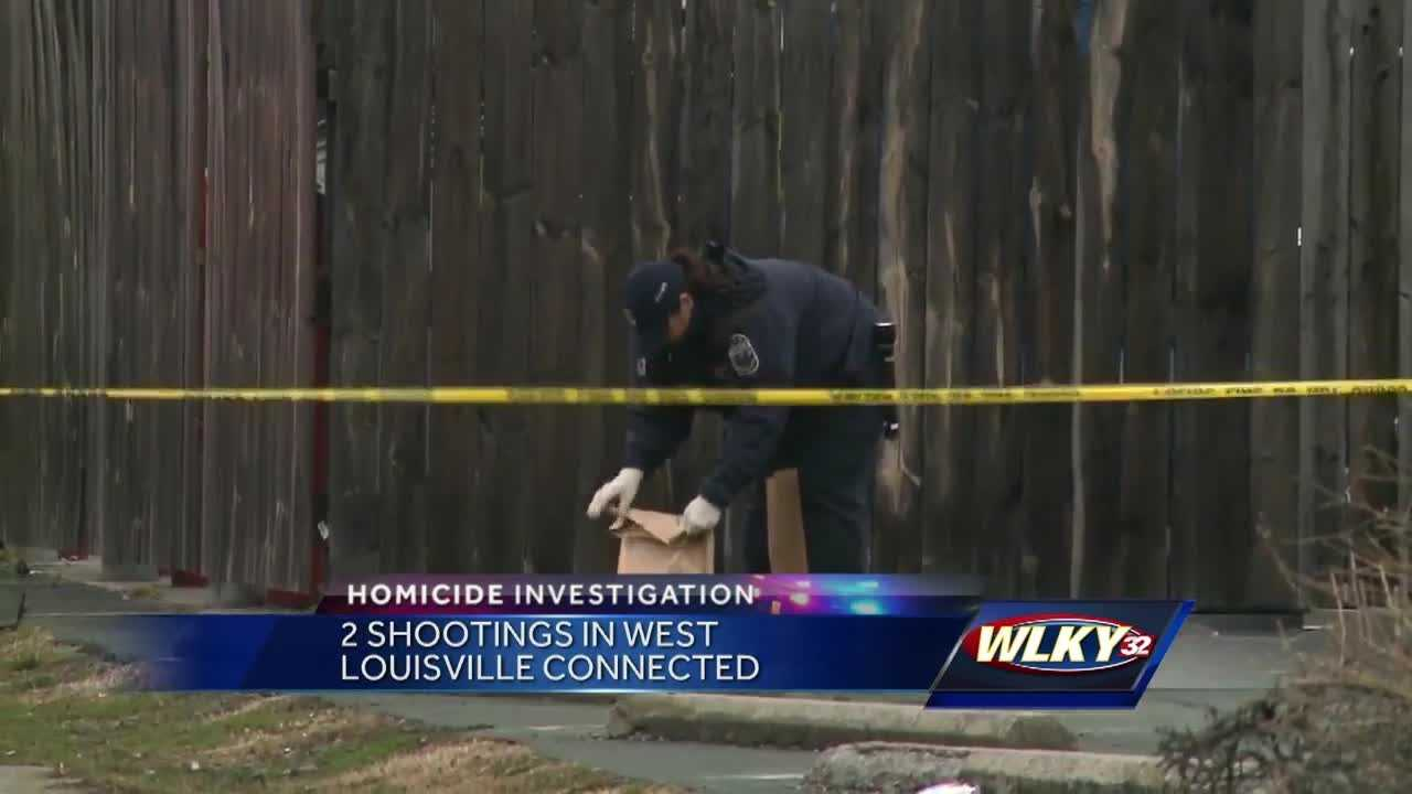 There is a new development in two West Louisville shootings that left one person dead and another injured.