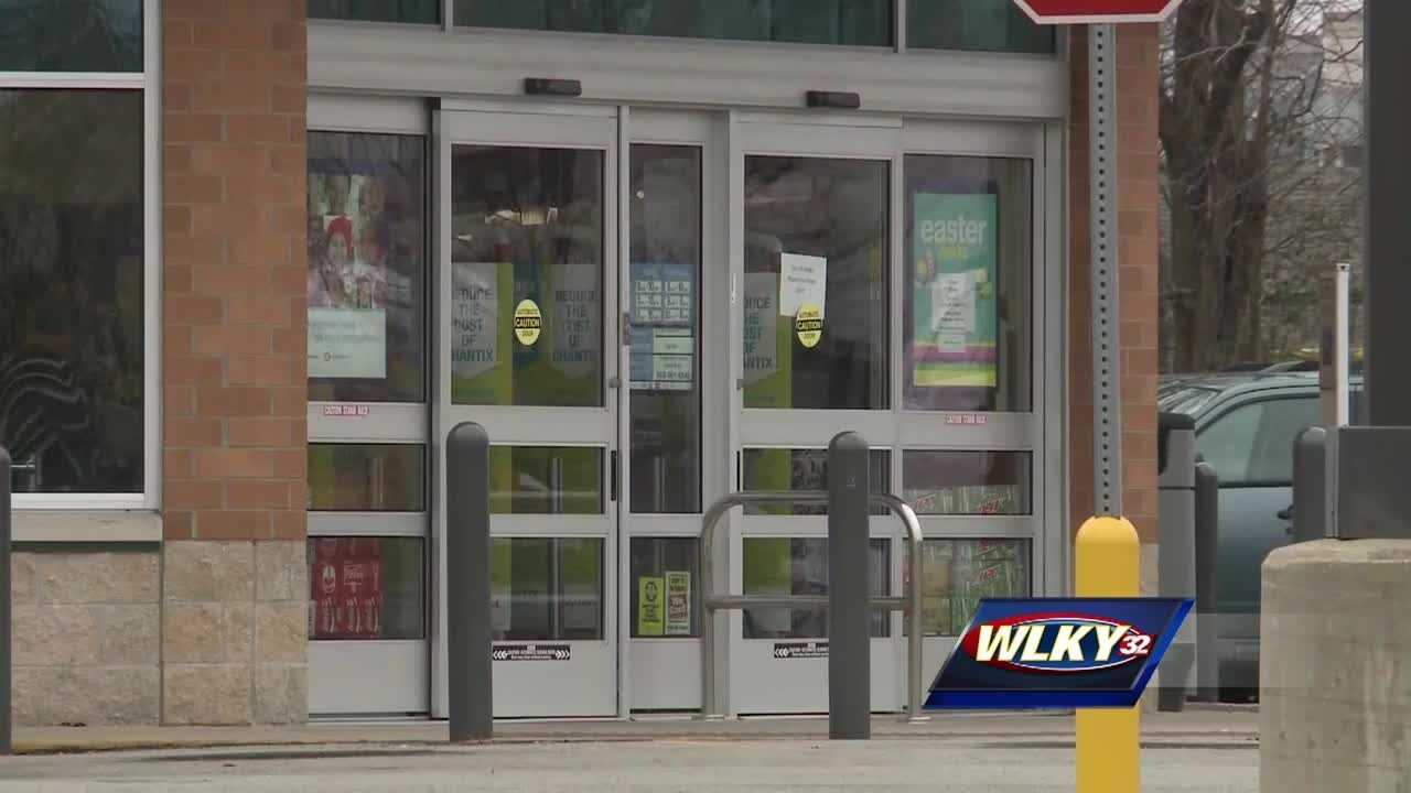 Police are looking for the person responsible for attacking a young woman at a busy Louisville pharmacy.