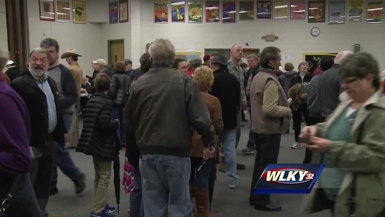 The polls closed at 4 p.m. Saturday for Kentucky's first ever Republican presidential caucus.