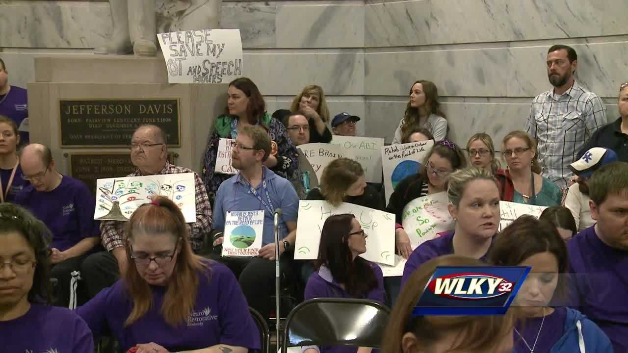 Traumatic brain injuries affect more than 200,000 people in Kentucky.