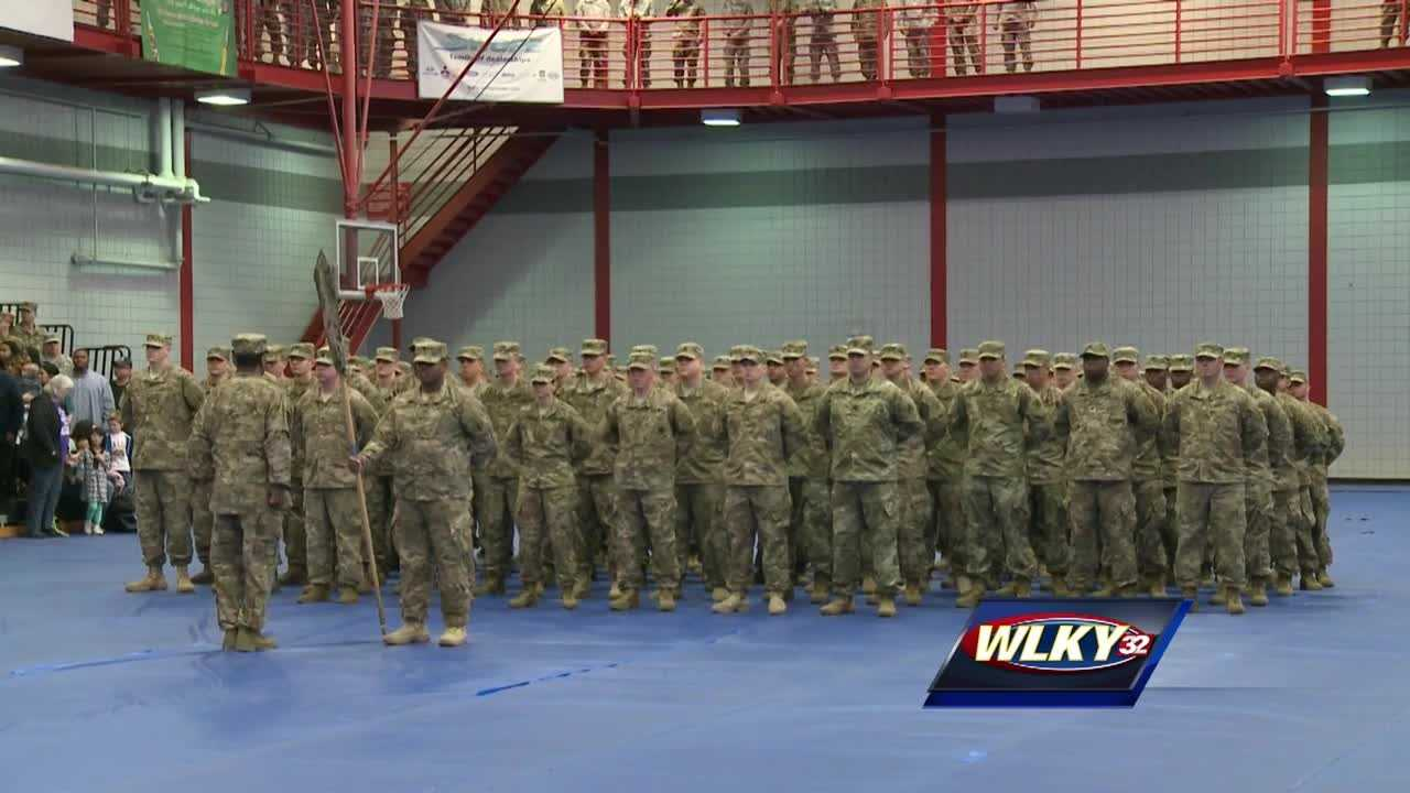More than 100 soldiers are being deployed from Fort Knox to Afghanistan.