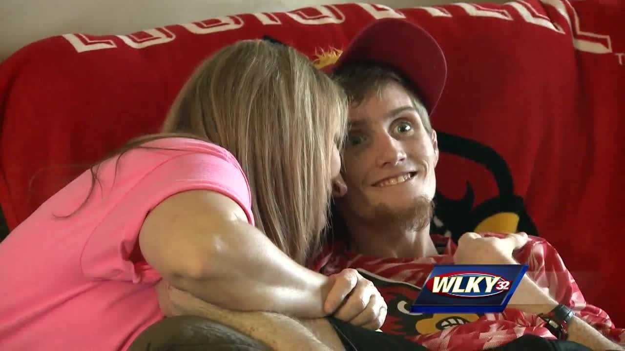 A life-long UofL fan living in Spencer County got one of his wishes granted on Friday.