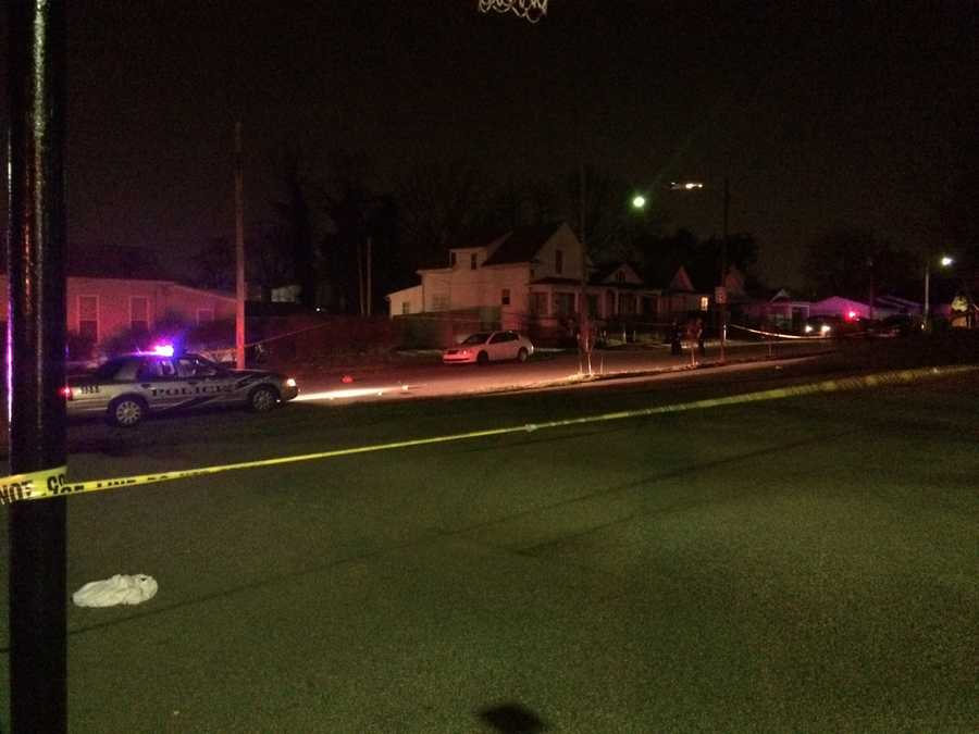 Metro police are investigating a late-night shooting near Churchill Downs.