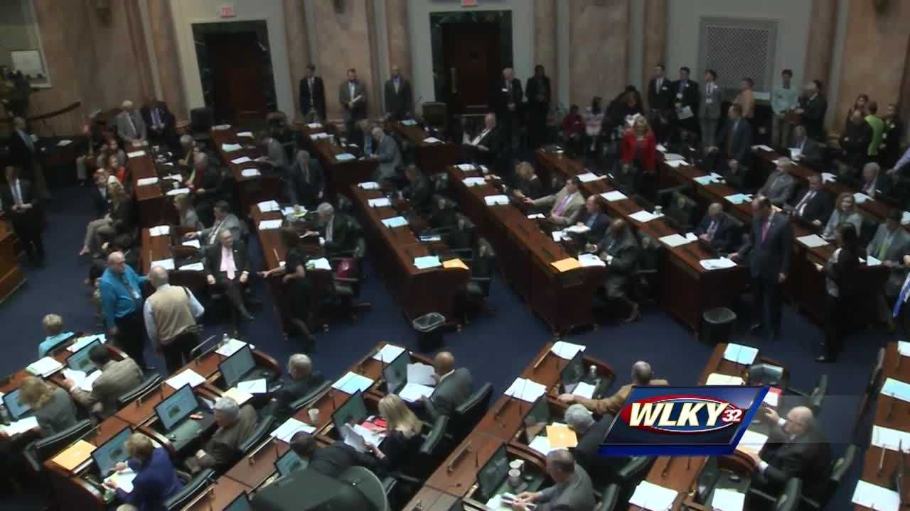 Lawmakers pass a state budget they say will avoid Governor Matt Bevin's proposed budget cuts.