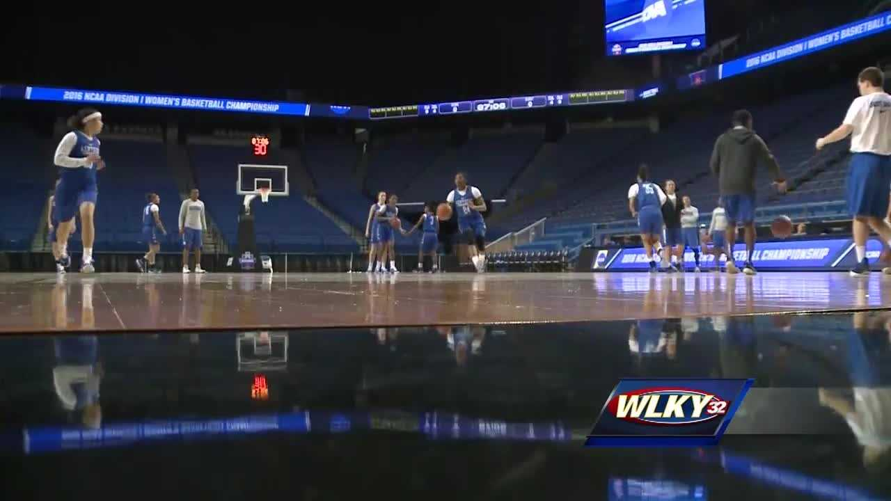The University of Kentucky women's basketball team is on their own road to the Final Four.