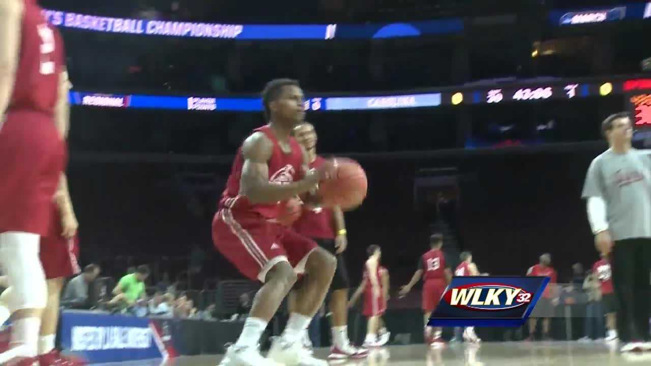 IU prepares for Sweet Sixteen match-up against North Carolina