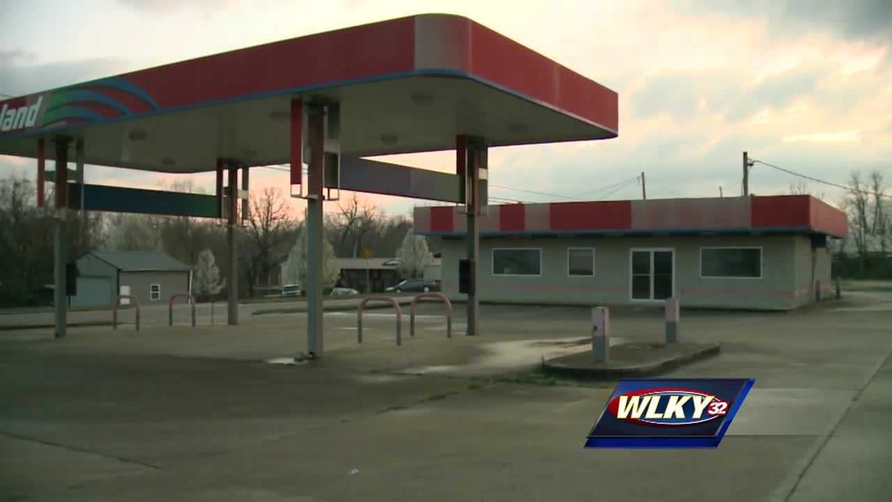 One man is dead, another hospitalized after a shooting at an abandoned gas station.