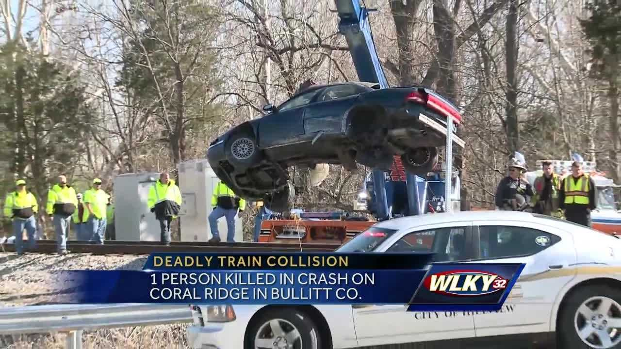 One person was killed Tuesday when a car and train collided.