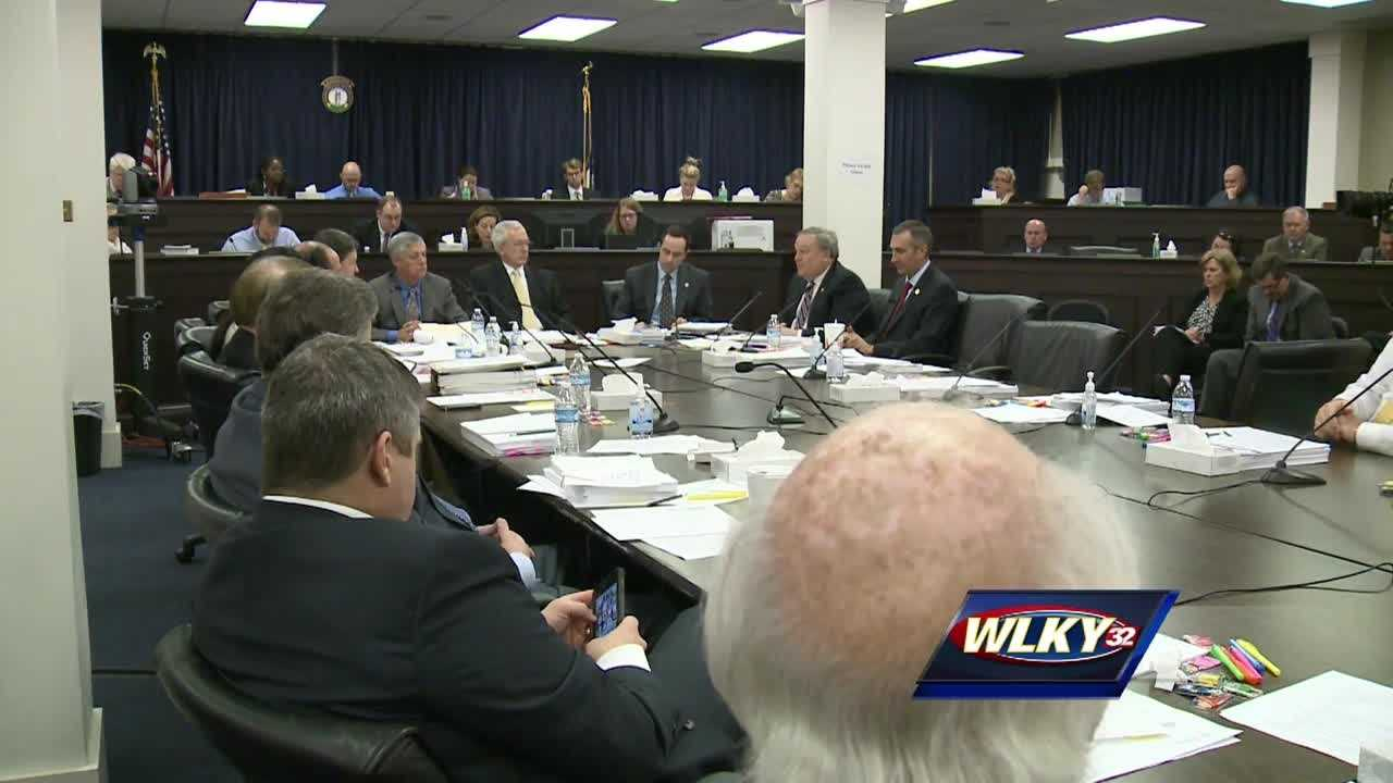 Some testy exchanges are taking place in Frankfort as lawmakers try to hammer out a budget compromise.