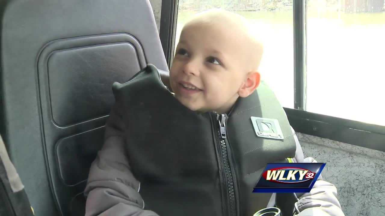Camden Taylor suffers from pediatric brain cancer, and doctors say time is running short