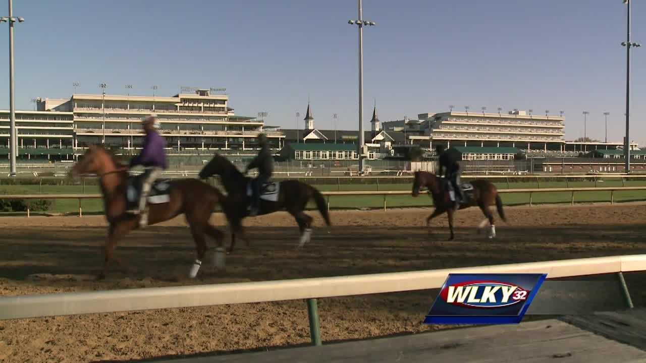 Tours begin at Churchill Downs backside