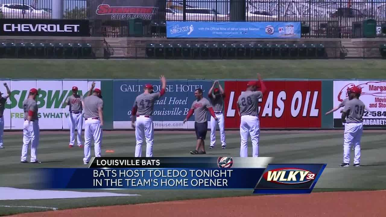 Bats host Toledo in home opener at Slugger Field