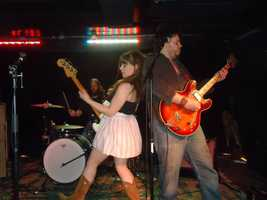 The Sundresses performing at GonzoFest after party at The New Vintage