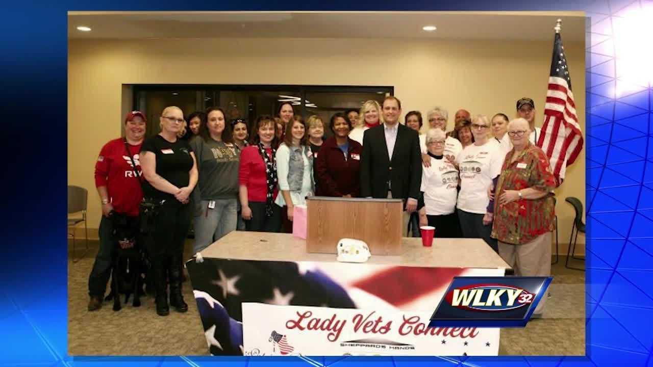 Women unite to support returning female veterans